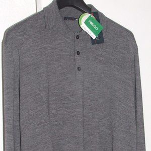 NWT: Moniti, Italian Made Grey Jersey, Size XL